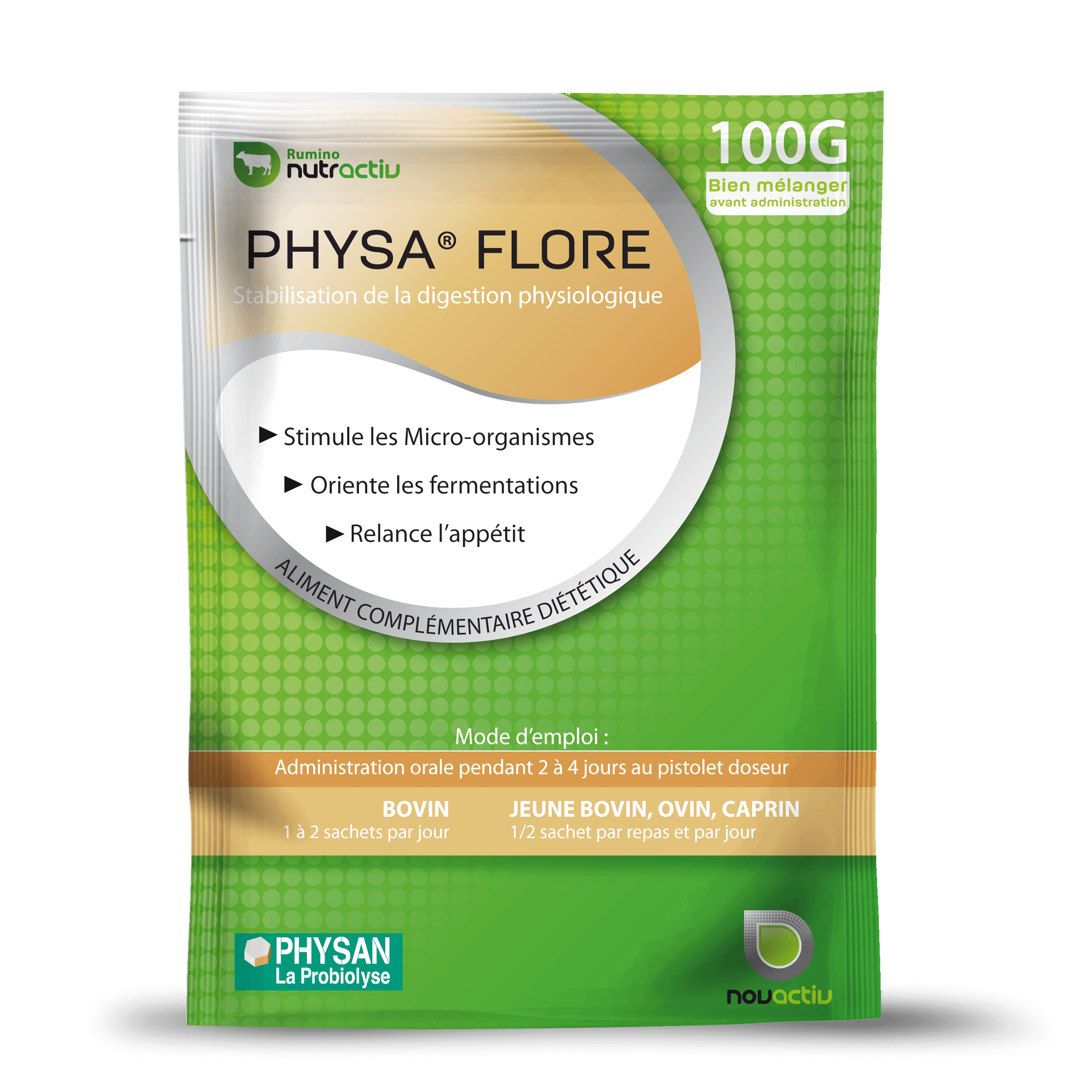 PHYSA FLORE : flore intestinale - Physan